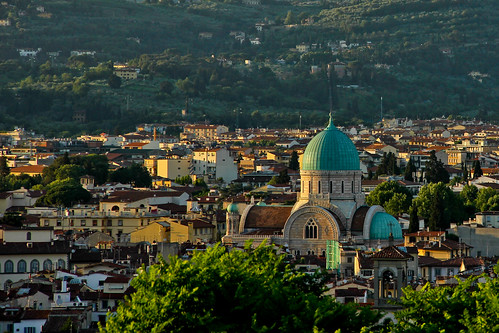 Great Synagogue, Florence   by Avital Pinnick