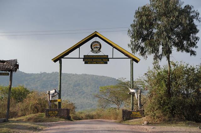 Entrance to Arusha National Park