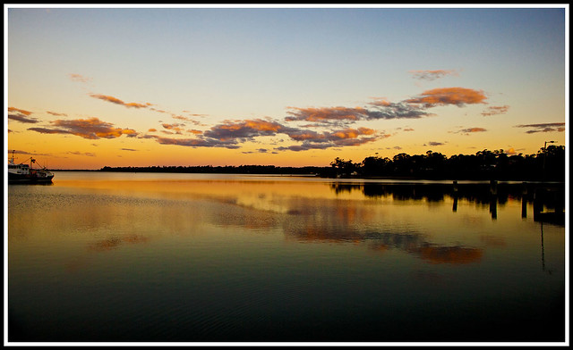 Sunset, St Helens, Tasmania