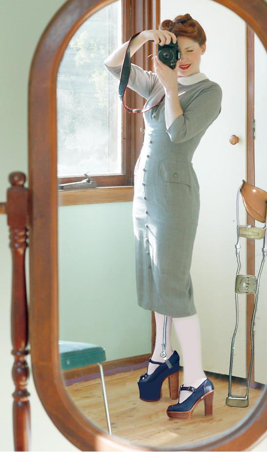 Mirror Image Short Leg Built Up Shoe Brace Glamorgan