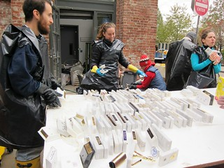 Post-Sandy cleanup, DUMBO: Smack Mellon | by Scoboco