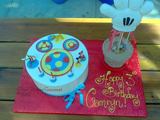 Tremendous Camryns Toodles Cake With 3 D Glove Figure 09292012 Gsg Flickr Funny Birthday Cards Online Alyptdamsfinfo