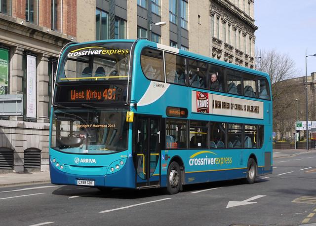 Arriva Merseyside 4416 (CX58GBF)