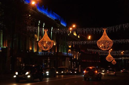 Rustaveli - Christmas lights | by Krzysztof Duda