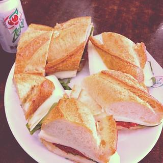 Now that is a sandwich!! #sanduiche #padaria
