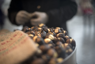 Hot roast chestnuts | by angelocesare