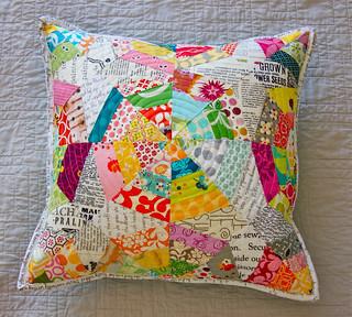 Texty Spiderweb Pillow