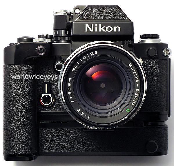ニコンF2, マミヤ・セコールC 80mm F2.8