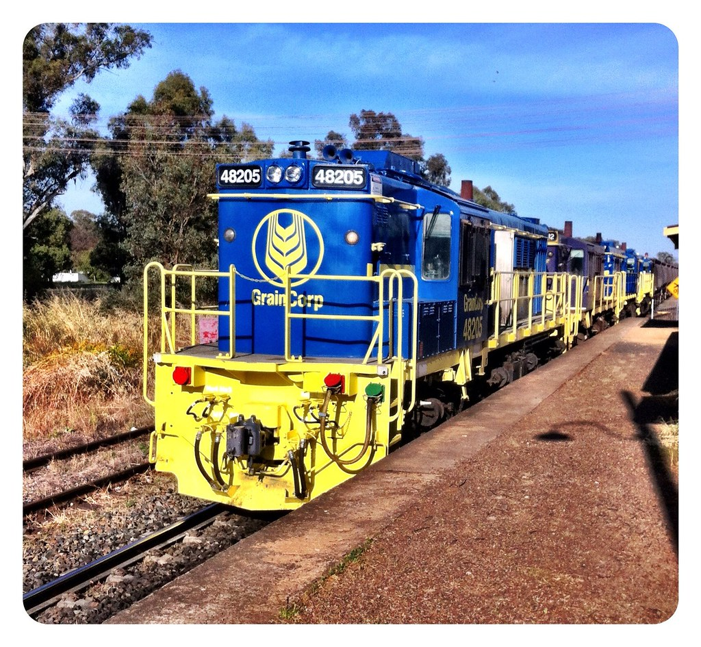48205, heading north from Stockinbingal by Cutto