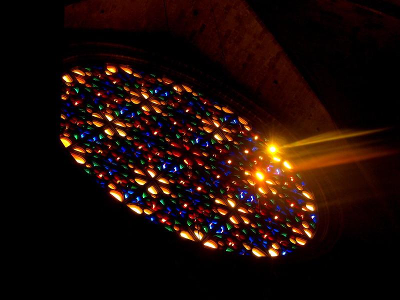 Rosette, Kirchenfenster, Kathedrale, Palma/Mallorca