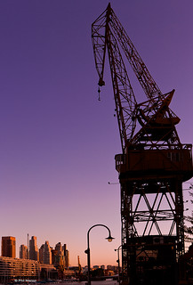 Cargo crane in Puerto Madero | by Phil Marion