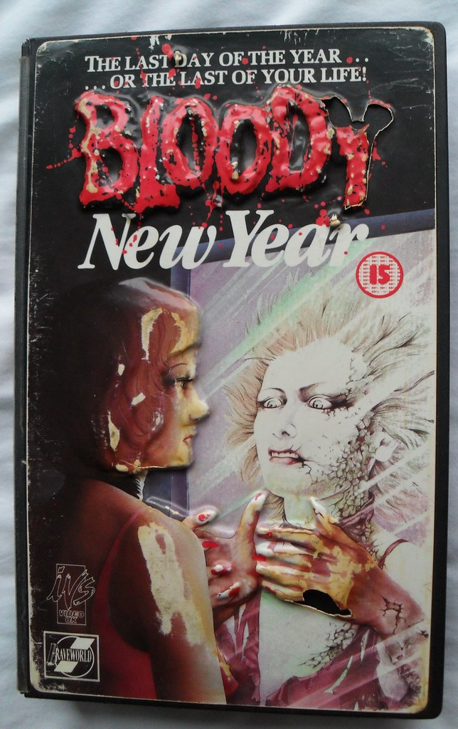 Bloody New Year VHS cover | 3-d style vhs cover of bloody ne… | Flickr