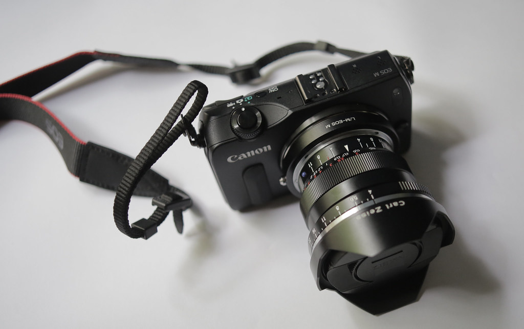 Canon eos-m Zeiss Biogon ZM 18mm f4 | Finally the M mount to