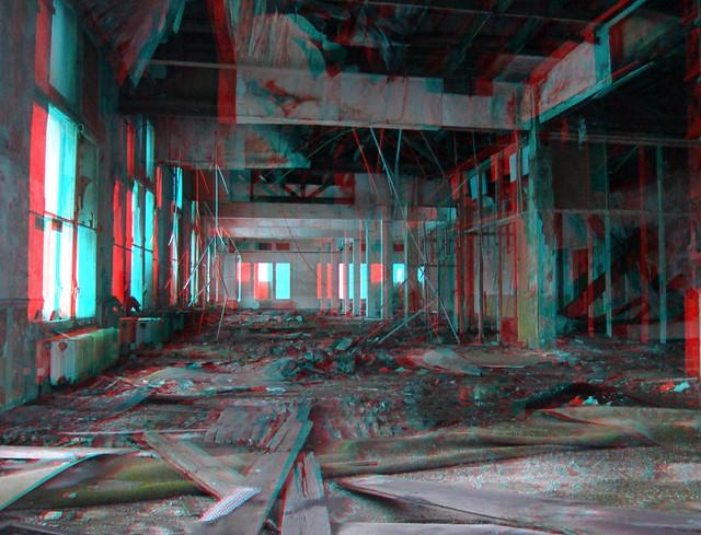 Industrial heritage Hembrug 3D photo (anaglyph)