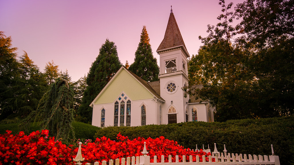 The Chapel | The Chapel in Minoru Park is a popular ...