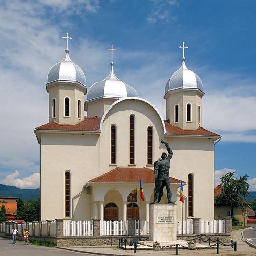 buildings architecture church covasna romania