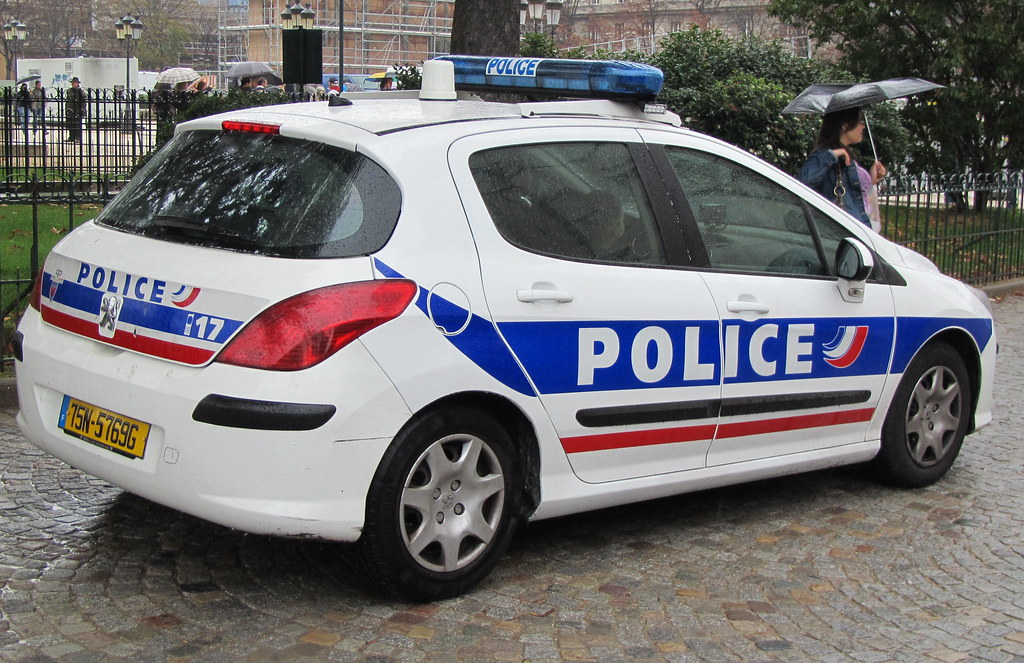 Police Car In France Leahoo Flickr