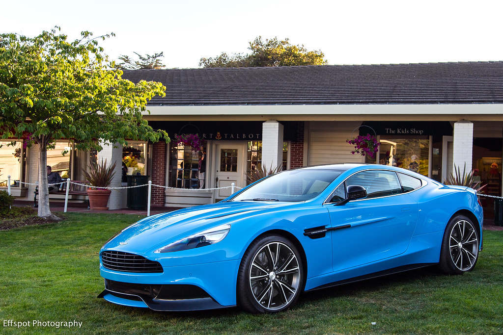 Baby Blues | Love this color on the new Vanquish. Check ...