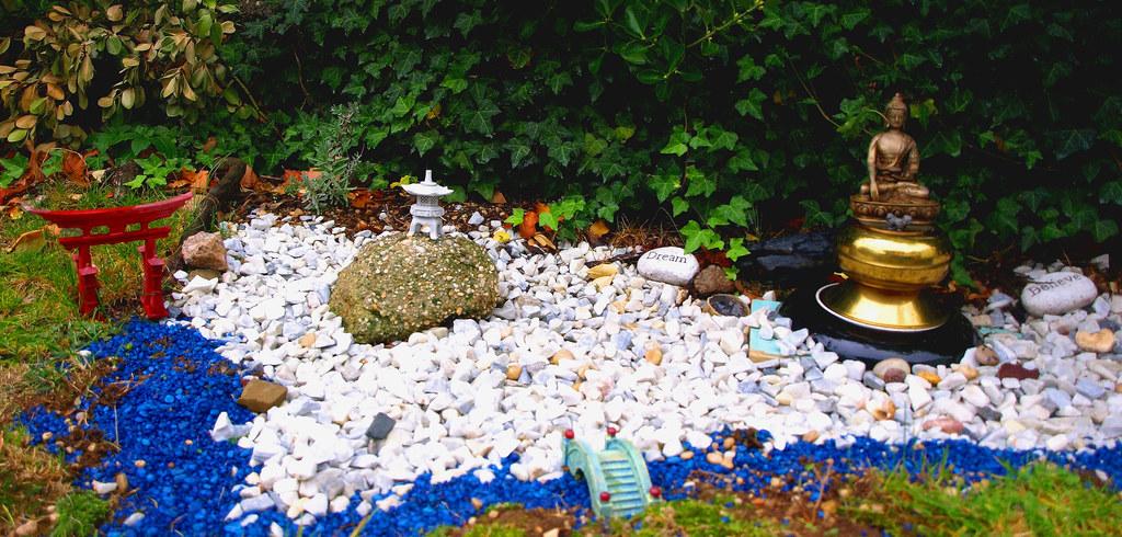 Zen garden on Long Island