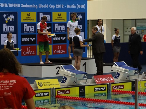 David Verraszto on top of the Berlin 2012 World Cup podium | by morshus