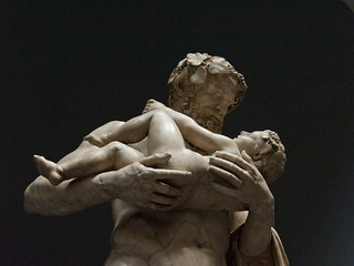 Papposilenus bearing the orphan Dionysus | The common story