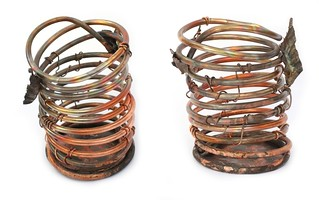 Copper Orchid Pots - Handmade | by Virtualdistortion