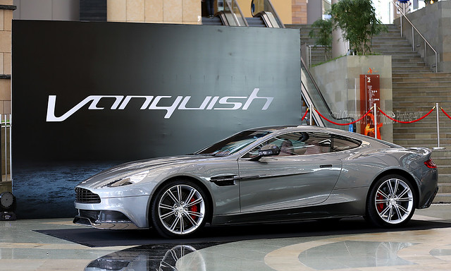 Aston Martin, Vanquish, Hong Kong