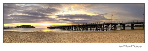 ocean sea summer panorama sun seascape sunrise canon landscape photography pier warm glow jetty warmth australia nsw coffsharbour maxwellcampbell