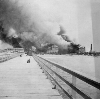 The Breakers Hotel on fire: Palm Beach, Florida