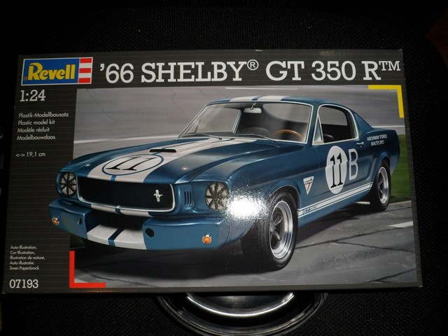 Pas-à-pas : Mustang Shelby GT 350 R 1966  [Revell 1/24] 8433161499_c22deff0a6_o