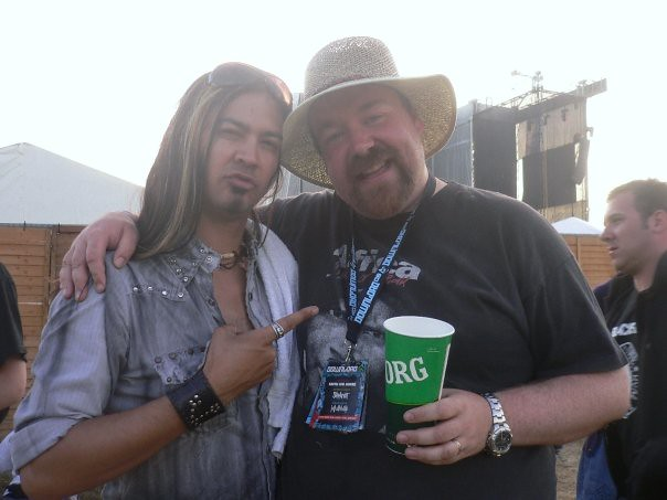 Me with Uriah Duffy, then of Whitesnake