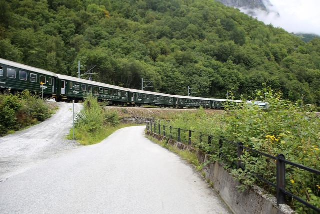 The Flam Railway at Berekvam