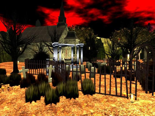 Village of Nyght -Graveyard Manner