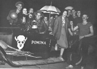 Guests dressed up for the 1939 flood anniversary party