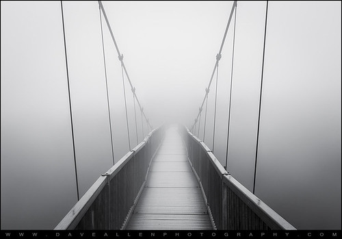 bridge fog foggy heavy thick nc parkway blue ridge blueridgeparkway western north carolina northcarolina grandfather mountain grandfathermountain spooky scary unknown wnc boone appalachia appalachian path vanishing minimalist minimalism creepy black white blackandwhite bw nikon d800 2470mm daveallen fineart landscape photography fineartphotography mygearandmeplatinum mygearandmediamond