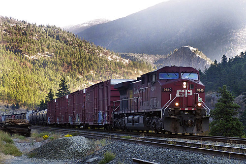 canada britishcolumbia canadianpacific cp ge railways lytton railtank ac4400cw