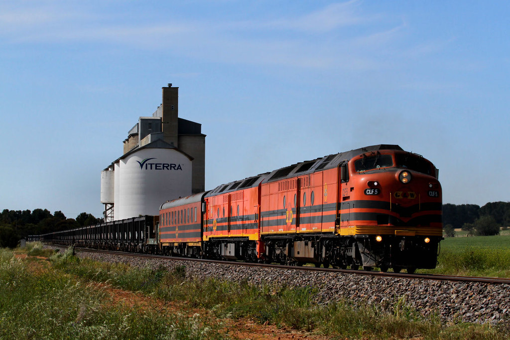 CLF5 ALF23 9112s Loaded GWA Wirrida Ore Redhill Loop-A 14 10 2012 by Daven Walters