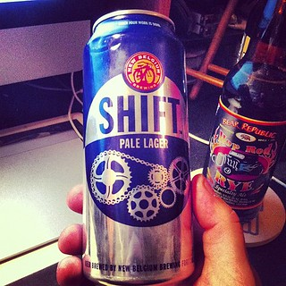 Shift Pale Lager paired with Hot Rod | by drewdomkus