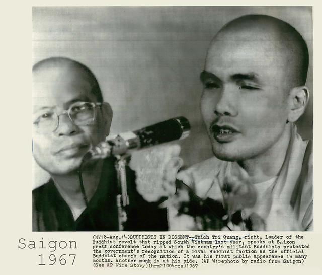 Saigon 1967 - Thich Tri Quang