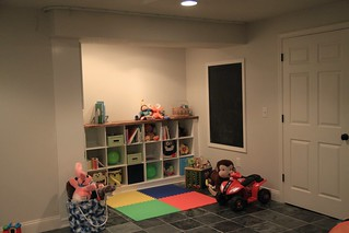 basement playspace in progress   by anythingpretty