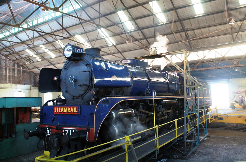 Bendigo Roundhouse turntable by S312 Photography
