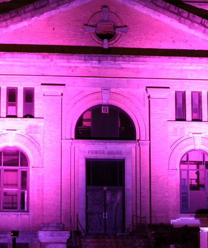 Power House goes pink for Breast Cancer Awareness | by North Charleston