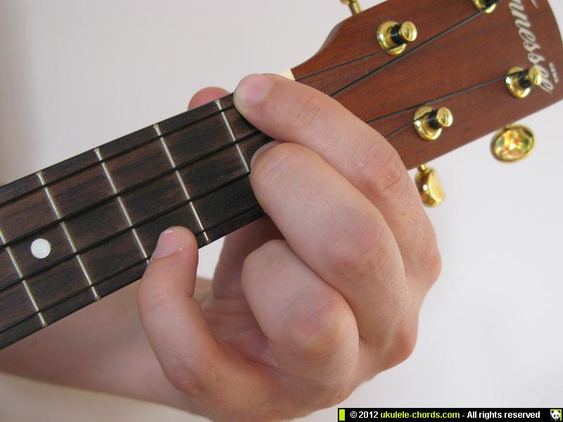 Fm ukulele chord | How to play a Fm on the soprano  For alte… | Flickr