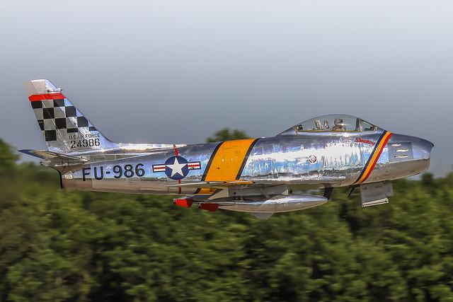 NX188RL, North American F-86F Sabre,