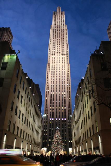 Rockefeller by Night
