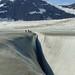 Crevasse on Herbert Glacier