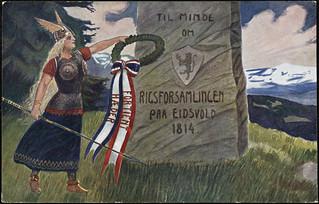 Til Minde om Rigsforsamlingen paa Eidsvold 1814, 1914