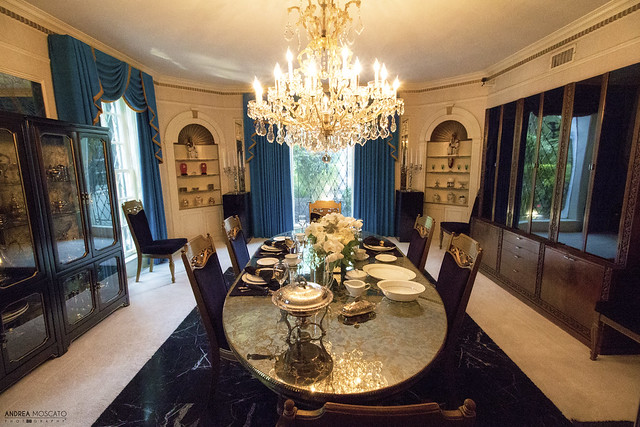 Elvis' Dining Room at Graceland - Memphis (Tennessee)