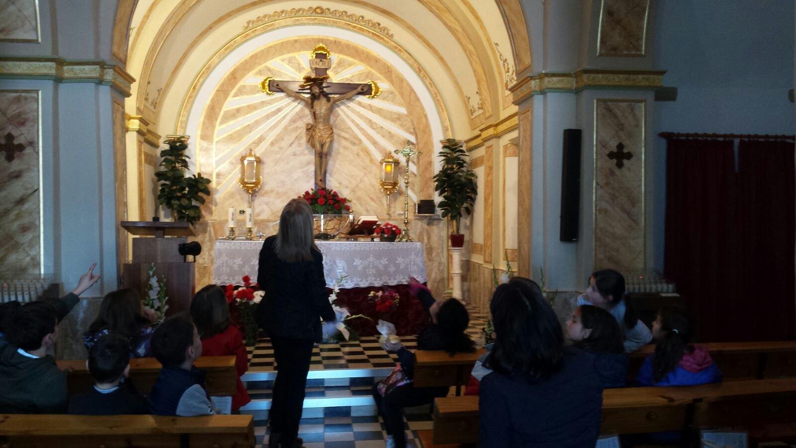 (2018-03-16) - Visita ermita alumnos Laura,3ºB, profesora religión Reina Sofia - Marzo -  María Isabel Berenguer Brotons (13)