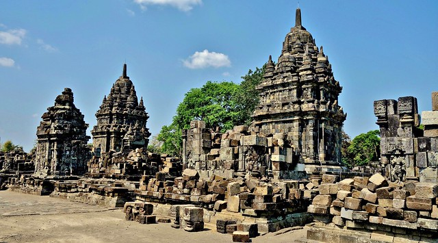 INDONESIEN, Java, Tempelanlage  Candi Sewu, 17364/9911
